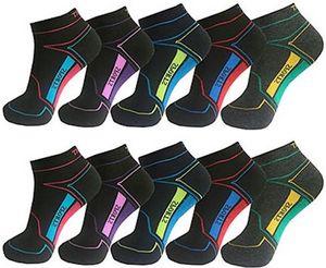 12 Paar Damen Sneaker Socken Sport Gr. 35-38