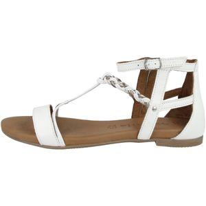 Tamaris Damen Sandale weiß 1-1-28043-26 weit Größe: 38 EU