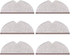 ProduktbeschreibungVerpackungsinhalt: 6 Packungen Reinigungstuch1. 【PERFEKT KOMPATIBEL】 Perfekt kompatibel mit Xiaomi Roborock S6 S5 MAX S60 S65 S5 S50 S55 E25 E35 Staubsaugerzubehör.2. 【INNOVATIVES SLOT-DESIGN】 Befestigen Sie das Tuch mithilfe des speziell entwickelten Montageschlitzes schnell und einfach am Wassertank. Das auf Langlebigkeit ausgelegte Zubehör wurde streng auf Kompatibilität und Haltbarkeit  und ist einfach zu installieren.3. 【HOCHWERTIGE UND EFFIZIENTE REINIGUNG】 Mikrofaserwolle wurde um