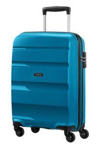 American Tourister Bon Air Spinner S Strict Hartschalenkoffer Seaport Blue 55 cm Kabinengepäck 31,5 Liter