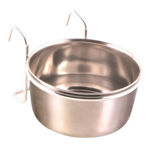 Trixie Edelstahlnapf mit Halter 300 ml