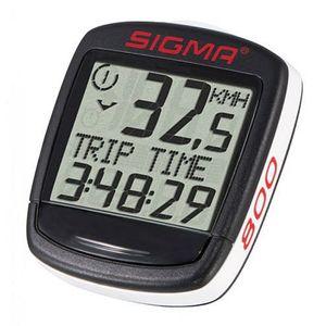 Sigma Fahrradcomputer BC 800 8 Funktionen schwarz-weiß baseline