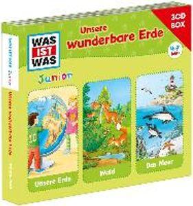 WAS IST WAS Junior 3-CD Hörspielbox. Unsere wunderbare Erde
