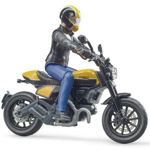 bworld Scrambler Ducati Full Throttle mit Fahrer