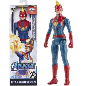 Marvel figur Titan-Helden-Kapitän Marvel30 cm rot/blau