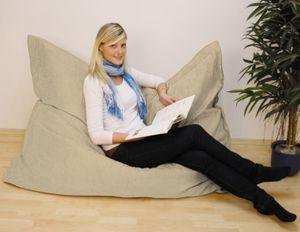 Velours-Riesen-Sitzsack ca. 140 x 180 cm Stand.-Var.