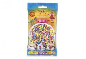 HAMA-Perlen Pastell gemischt 1000Stück, 1Beutel