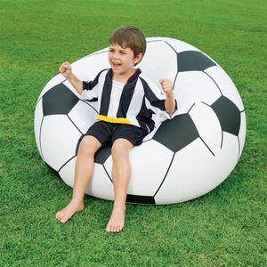 Bestway Aufblasbarer Sitzsack Fußball