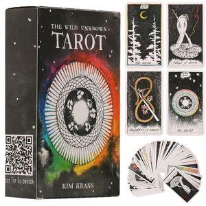 Wilde Unbekannte Tarotkarte Spiel zum Brettspiel Karten Party und Unterhaltung