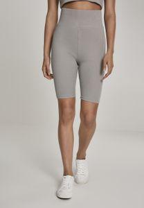 Urban Classics Damen Ladies High Waist Cycle Shorts TB2632, color:black, size:M