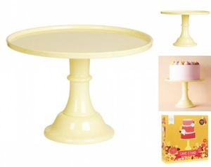 A Little Lovely Company - Tortenständer Gelb  groß
