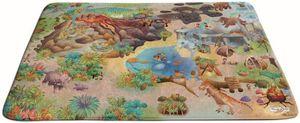 """Spielteppich Soft """"Urzeit"""" 130 x 180 cm Spielmatte Spiel Teppich Dinosaurier NEU"""