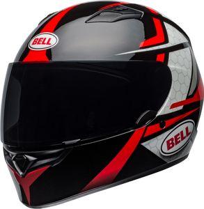 Bell Qualifier Flare Helm Farbe: Schwarz/Rot, Grösse: XL (61/62)