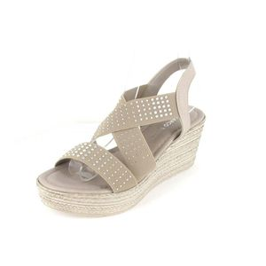 Marco Tozzi Sandalette  Größe 40, Farbe: TAUPE COMB