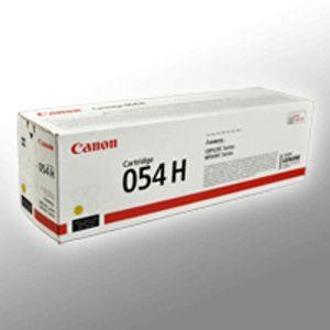 Canon Toner Cartridge 054 H Y yellow
