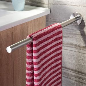 Handtuchhalter 40 cm Bad Handtuchstange Wandmontage Edelstahl Gebürstet