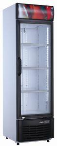 SARO Getränkekühlschrank mit Werbetafel Modell GTK 282 M