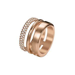 Joop Damen Ring Edelstahl Rosé DELICATE JPRG00004C1, Ringgröße:57 (18.1 mm Ø)