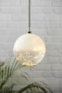 Star Trading 457-90 Glaskugel 50 warmweiße LED Durchmesser 20 cm inkl. Trafo