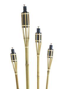 tib gartenfackel 120 cm Bambus hellbraun