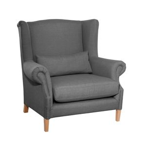Max Winzer Harvey Big-Sessel - Farbe: anthrazit - Maße: 115 cm x 95 cm x 117 cm; 30001-1100-1645214-F01