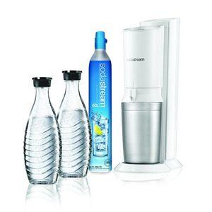 SodaStream Crystal, Metall, Kunststoff, Edelstahl, Weiß, 0,6 l Flaschen