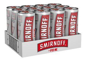 Smirnoff Ice 3,0% Vol. 12 x 250 ml Dose, 12er Tray inkl. 3,00€ Pfand EINWEG