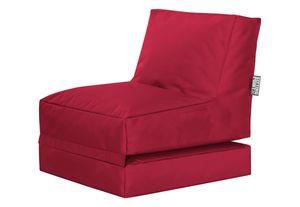 Twist SCUBA, Sitzsack und Liege,  Rot
