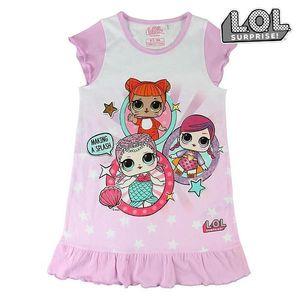 Kinder Nachthemd LOL Surprise 74050 Wei§ Rosa  ; Gro§e: 6 Jahre