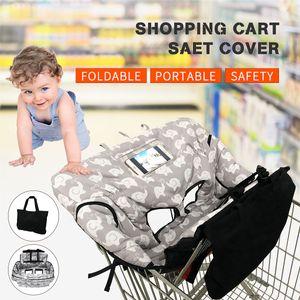 LEQUEEN Baby Kids Einkaufswagen Kissen Kinder Trolley Pad Baby Shopping Push Cart Schutzhülle Baby Stuhl Sitzmatte