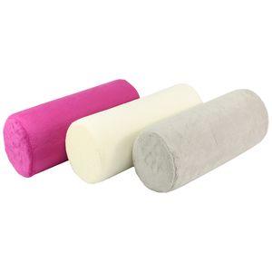 Gesundheitskissen Nackenrolle mit viscoelastischem Spezialschaum pink