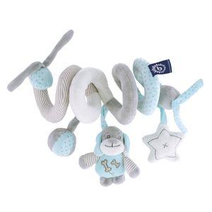 Bieco Kinderwagen Kette Design Sina | ca. 30x24 cm | Maxi Cosi Spielzeug, Mobile Babybett oder für Baby Laufgitter | Spielbogen Anhänger | Activity Spiel | Mobile Baby Spielzeug | Greifringe Baby