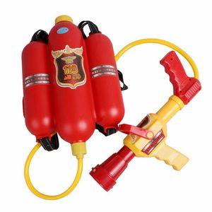 Siva Water Gun Firefighter Wasserspritze Feuerwehrlöscher Wasserpistole ab 3 Jahre