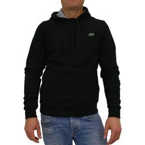 Lacoste Sweatshirt mit Kapuze Herren Schwarz (SH2128 SNP) Größe: 2 (XS)