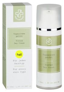 Hagina Cosmetic - Tagescreme getönt hell 50ml