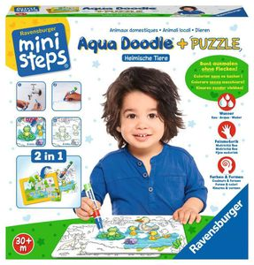 Aqua Doodle® Puzzle: Heimische Tiere Ravensburger 04557