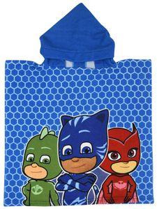 Disney badponcho PJ Masks blau 50 x 100 cm