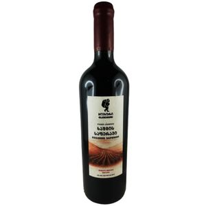 Glekhuri Rotwein Khashmi Saperavi Qvevri 0,75L georgischer Wein trocken