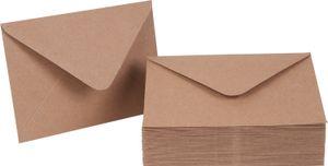 Briefumschläge Kraftpapier 50 Stück