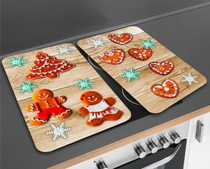 Herdabdeckplatte Universal Lebkuchen, 2er Set