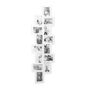 relaxdays Bilderrahmen Collage XXL für 14 Fotos