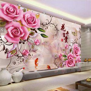 5D Diamant Painting Kit Full Bohrer Rose Diamond Painting Strass Malerei Handgemachtes Wohnzimmer Schlafzimmer Wanddekoration (60x40cm)