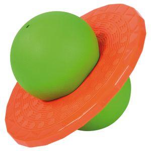 EDUPLAY 170387 Planeten-Hüpfball, grün/orange