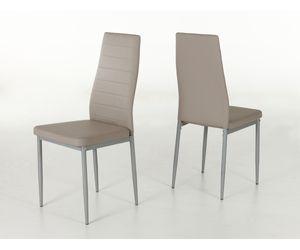 910698 Simone cappuccino braun Esszimmerstuhl Küchenstuhl Stuhl Sessel Kunstleder