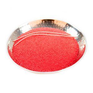 Kerzensand 400g inkl. 2 Dochte, rot