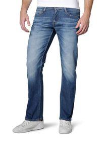 MUSTANG Oregon Straight Herren Jeans Blau 3115 5111 583, Größe:W33/L34