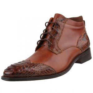 Sendra Herren Stiefelette 13055 Python Braun, Schuhgröße:EUR 43