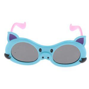 1 Paar Uni Kinder Sommer Polarisierte Sonnenbrille, UV-Schutz, 15 x 5 x 5 cm Farbe Hellblau