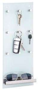 Schlüsselleiste aus Glas