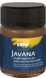 Javana Stoffmalfarbe für helle und dunkle Stoffe Rehbraun